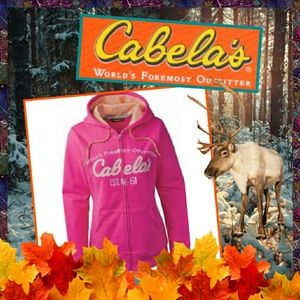 Cabela's Game-Day Full Zip Up Hoodie